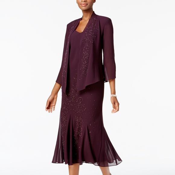 Rm Richards Sleeveless Beaded Vneck Dress | Poshmark
